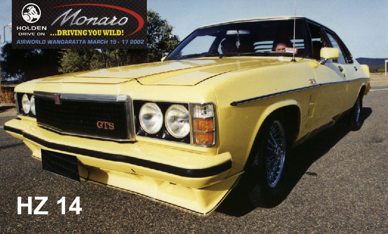 Monaro Club Of Victoria Hz Paint Colours